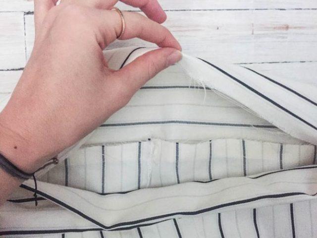 DIY pillowcase pants steps-8