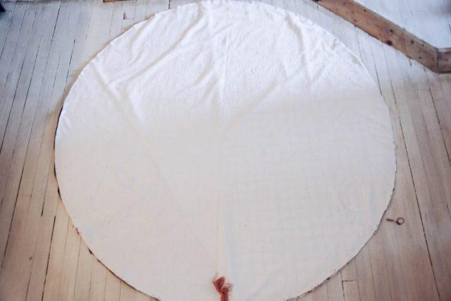 Etapes serviette ronde-13