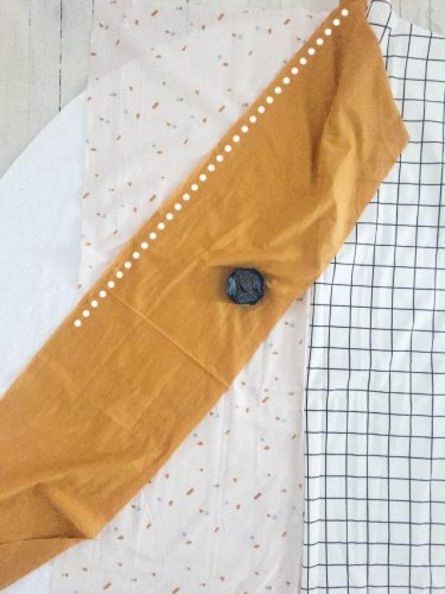 Etapes serviette ronde-5