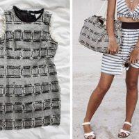 DIY sac de plage avec une robe