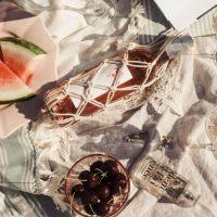 DIY Macramé : porte bouteille ... de rosé!