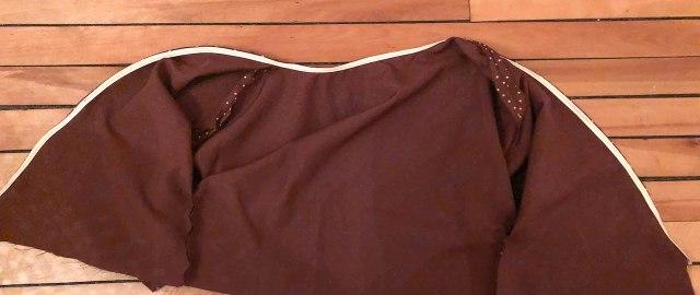Etapes DIY patron robe BOHO