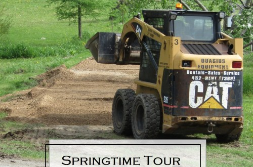 A Springtime Tour of the Homestead