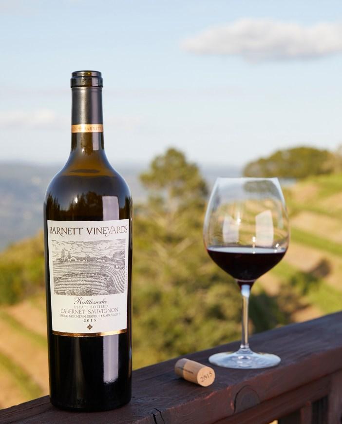 Barnett Vineyard Wine view