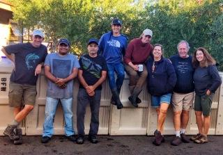 Behrens Family Winery - Harvest crew