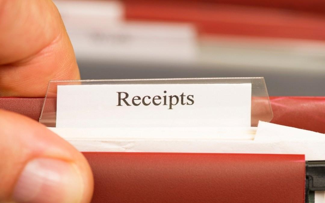 Capture Receipts, Capture Cash!