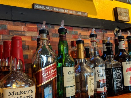 Bar with Bottles
