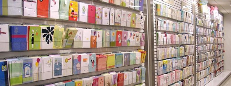 Image result for paperchase card display