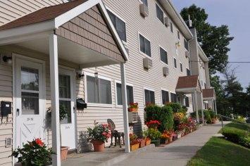 Springvale Apartment Building Exterior