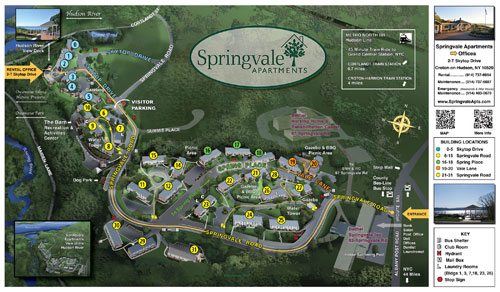 Springvale Site Map