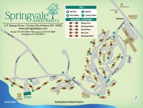 Springvale Apartments Map