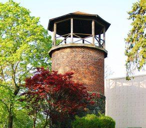 Springvale's water brick water tower.