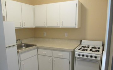 Type A 1 Bedroom Kitchen