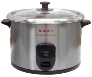 Singer Stainless steel rice cooker