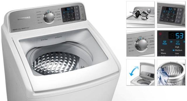 Samsung 8kg top load washing machine