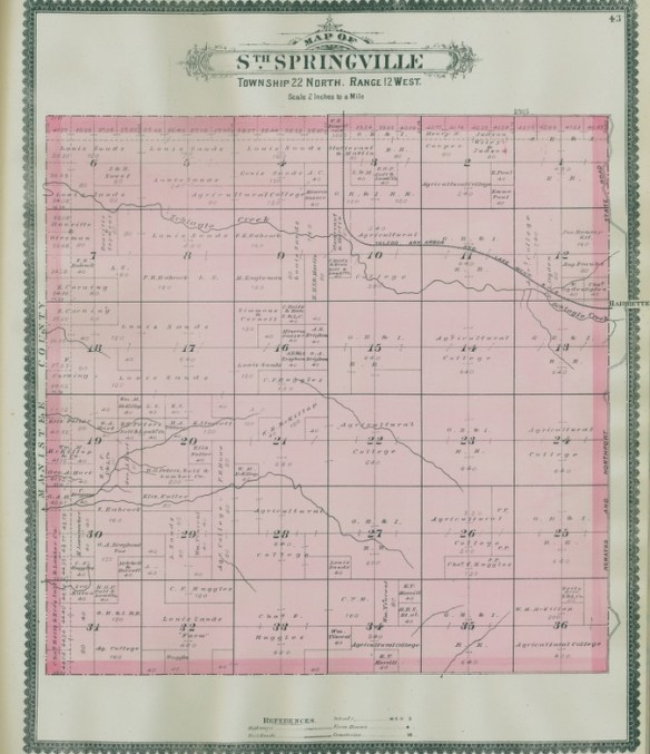 atlas-1889-south-springville-township-22-range-12