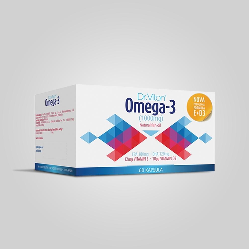 Dr. Viton - Omega 3 E + D3
