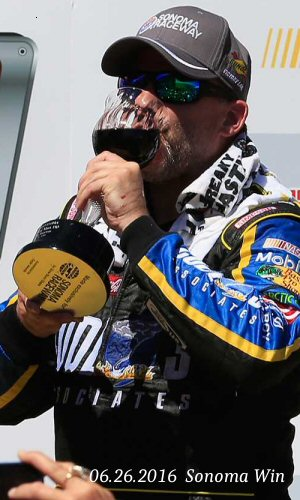 3-Time Sprint Cup Champion Tony Stewart - Wins at Sonoma