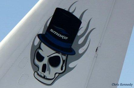 Dassault Falcon 50 N500TS-Tail Markings