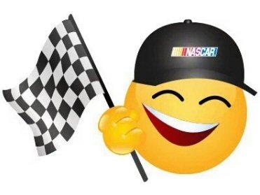 NASCAR emoji-Checkered