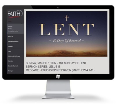 Springwood Marketing Websites Faith United Methodist Church Spring Texas