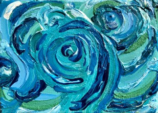 SOLD - Tumultuous Waters