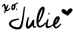 XO Julie signature