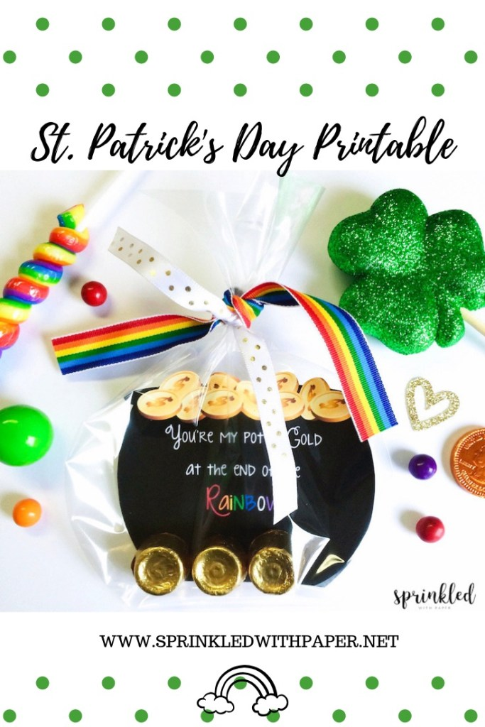 Saint Patrick's Day Printable favors