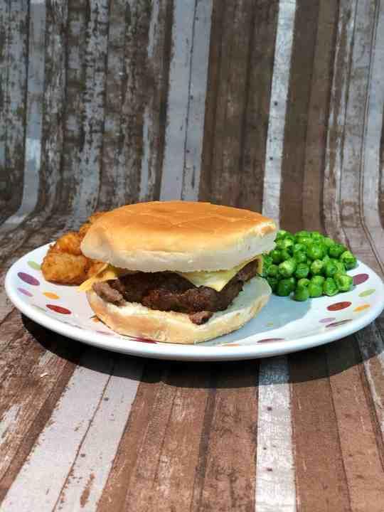 Air Fryer Hamburgers - Sprinkle of Country