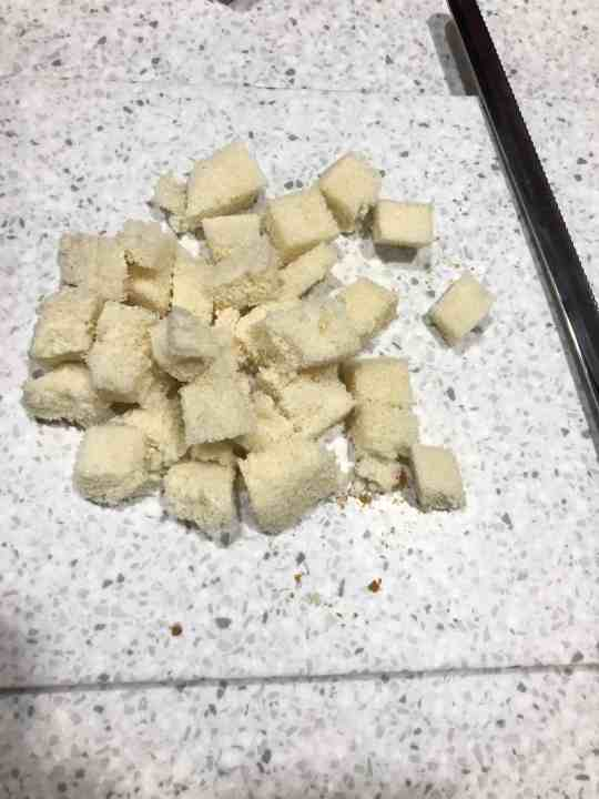 Bread Cubes for Egg Casserole