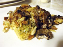 Chicken, Mushroom, and Stuffing Bake