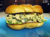 Pesto Chicken Salad Sandwich