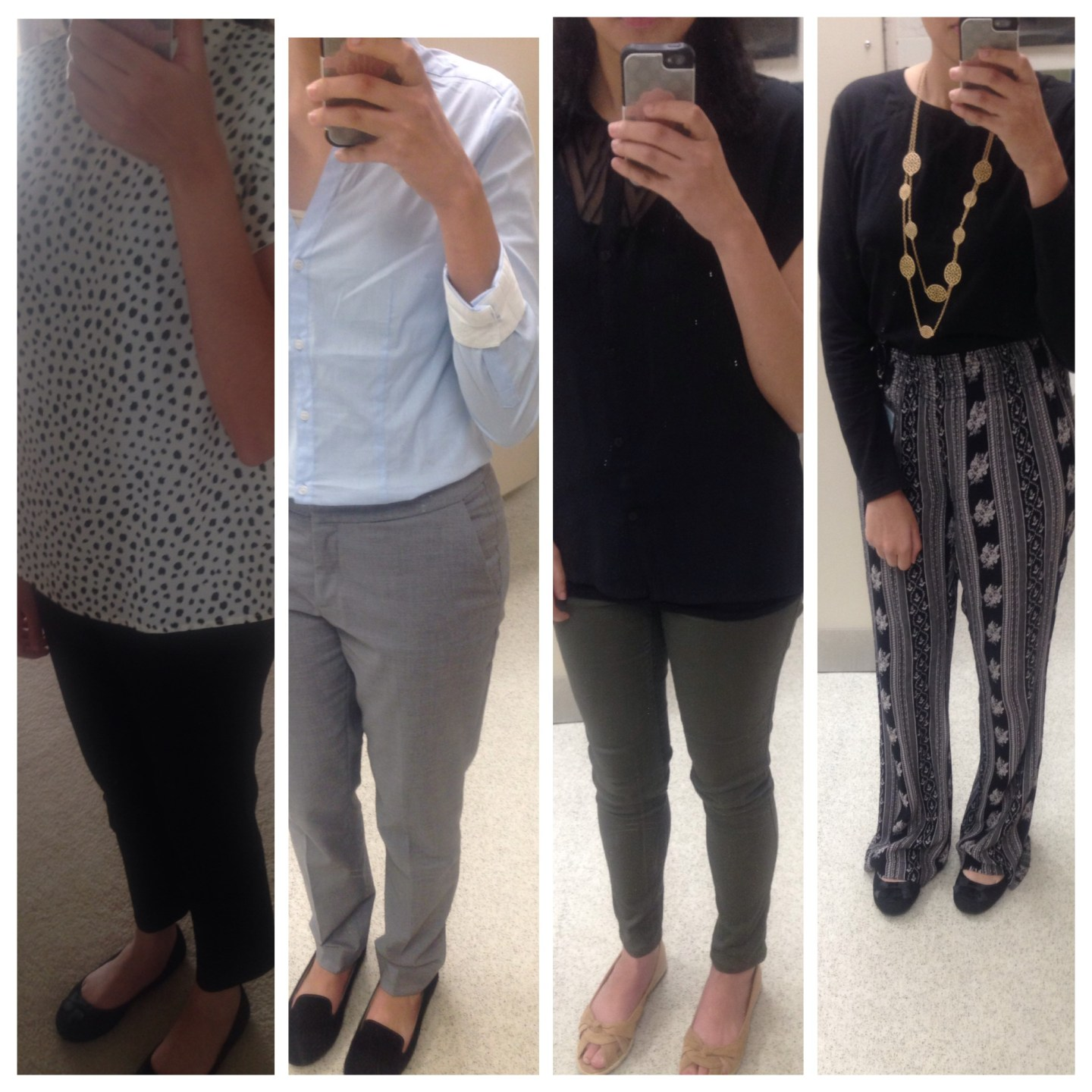 Fashion Friday: Four Simple & Stylish Outfits for Work or Fun!