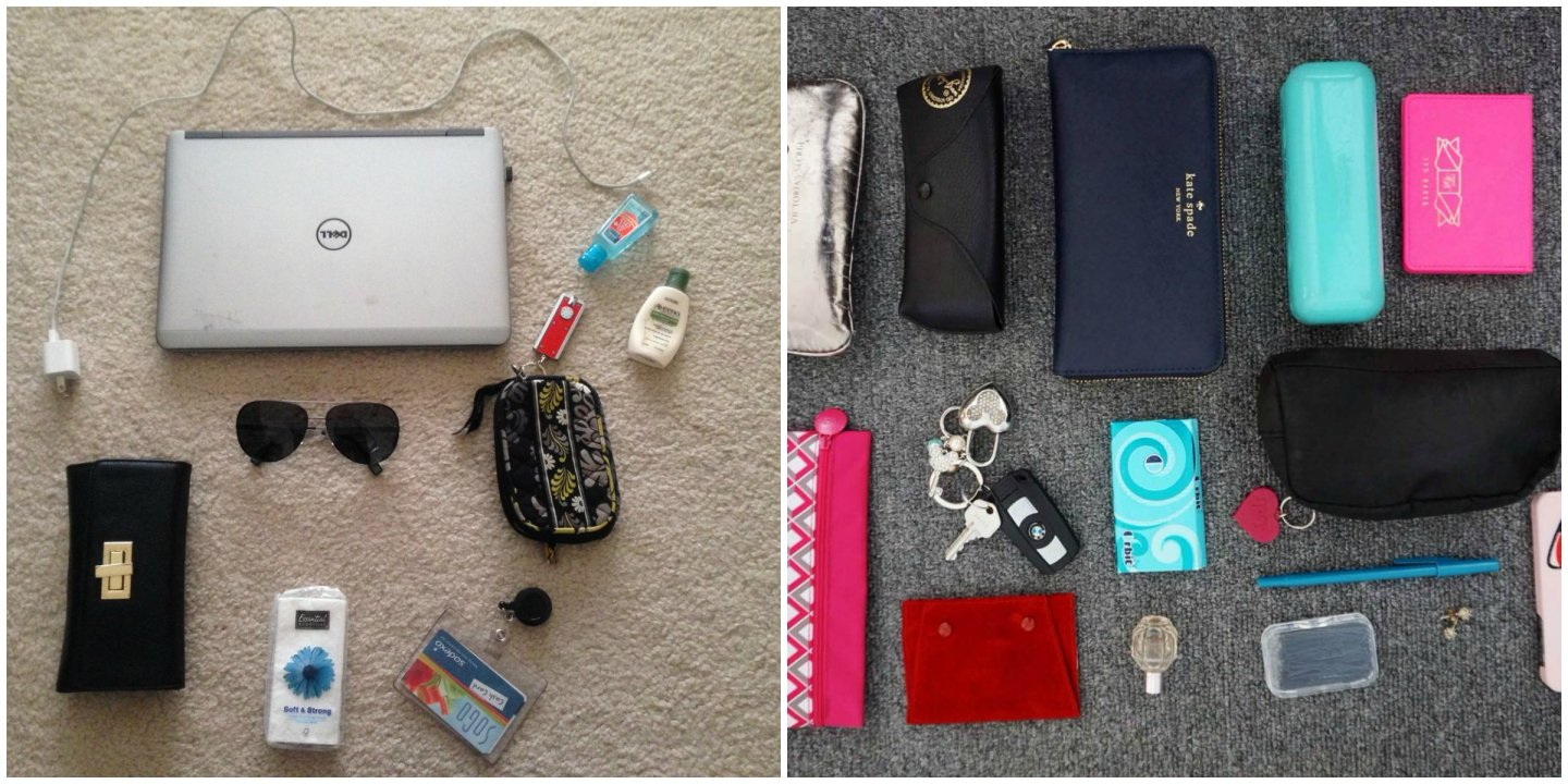 Whats In My Bag? A Collaboration with Heera Diaries!