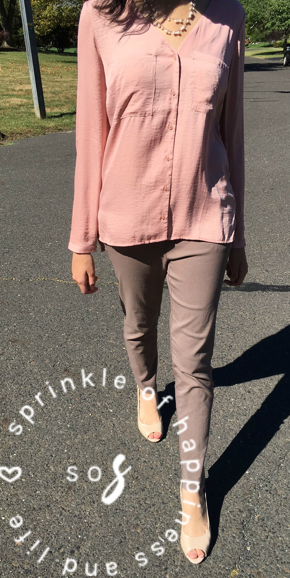 Blush Pink | Fall Look #1