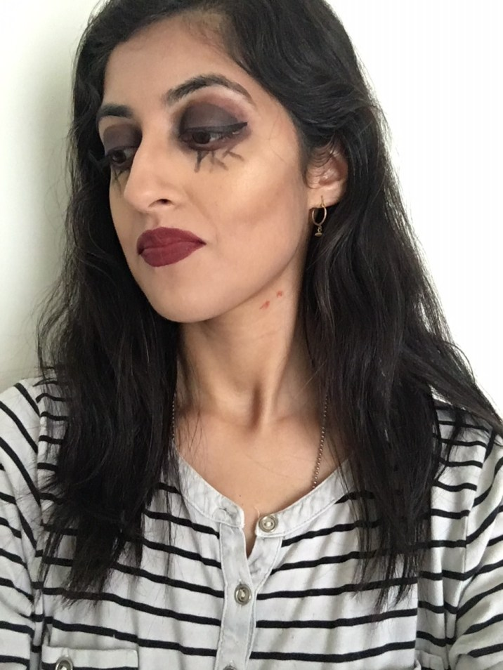 halloween makeup look 1.2