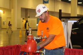 Douglas Nelson, an apprentice with Cox Fire Protection, Tampa, Florida, won the bronze medal.