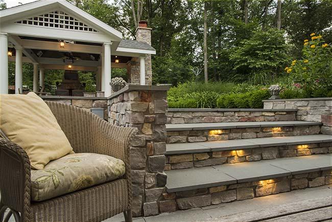 outdoor lighting professional vs doing
