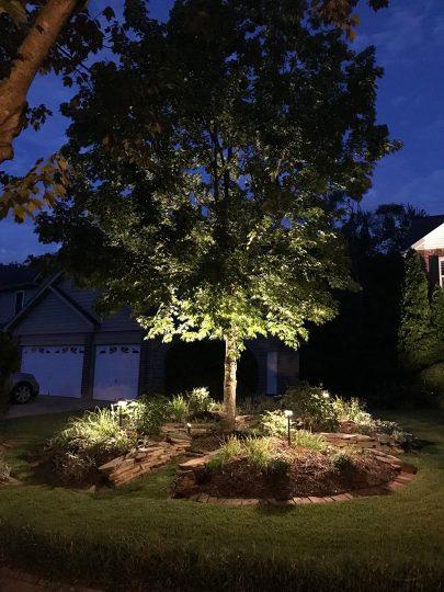 landscape lighting repair and