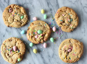 Soft and Chewy Mini Egg Cookies