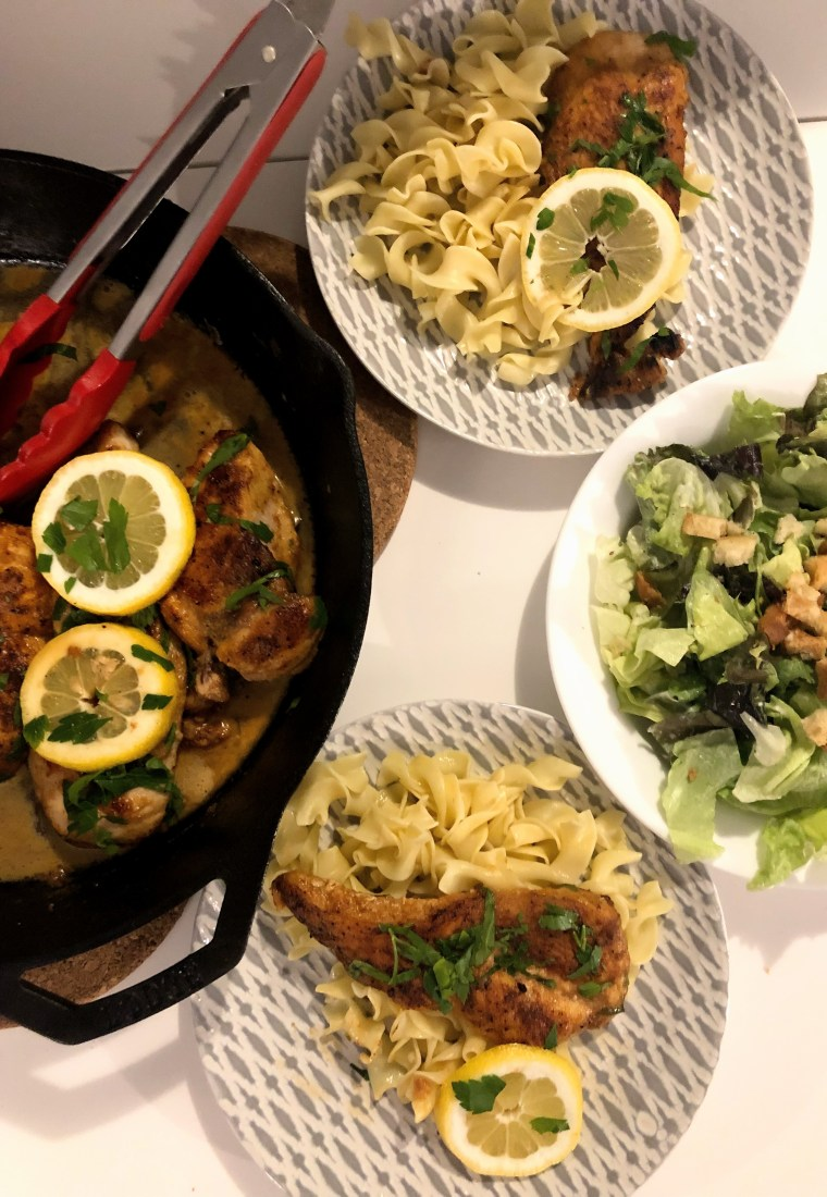 Easy Weeknight Chicken Piccata – ish