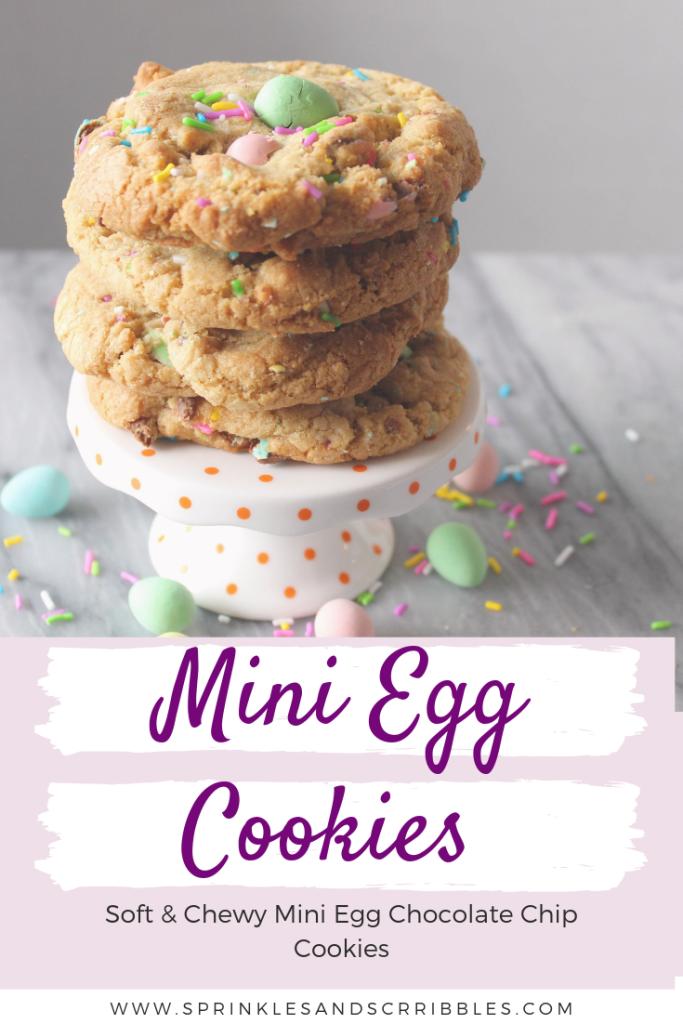 Mini Egg Cookie Recipe