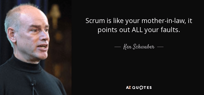 Scrum is you mother-in-law