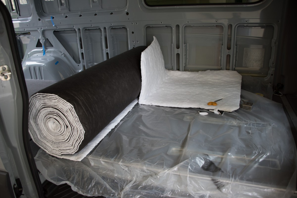 Comparing Van Insulation Options Sprinter Adventure Van