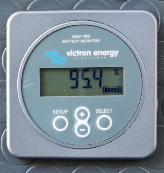 Victron BMV-700 battery monitor