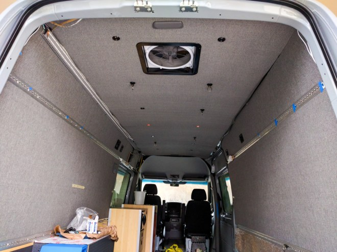 Interior Sprinter Adventure Van