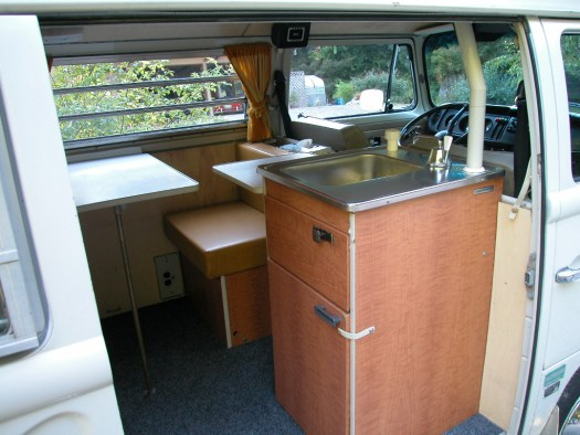 VW Westfalia sink unit