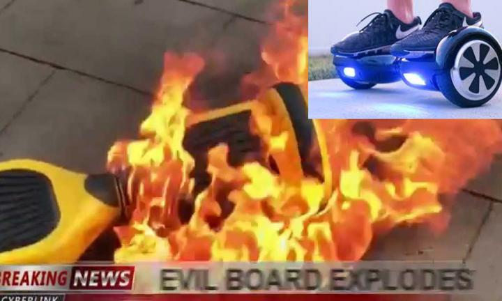 hoverboard exploding