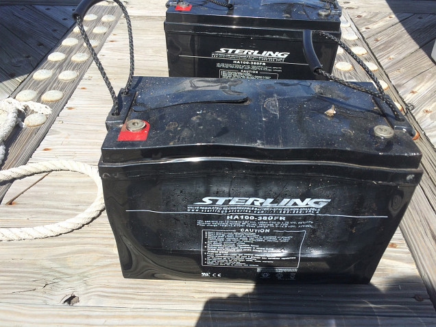Swollen Sterling 12v Battery