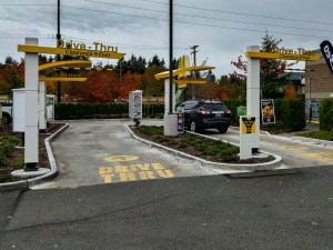 McDonalds have a 9' maximum height at their drive-through